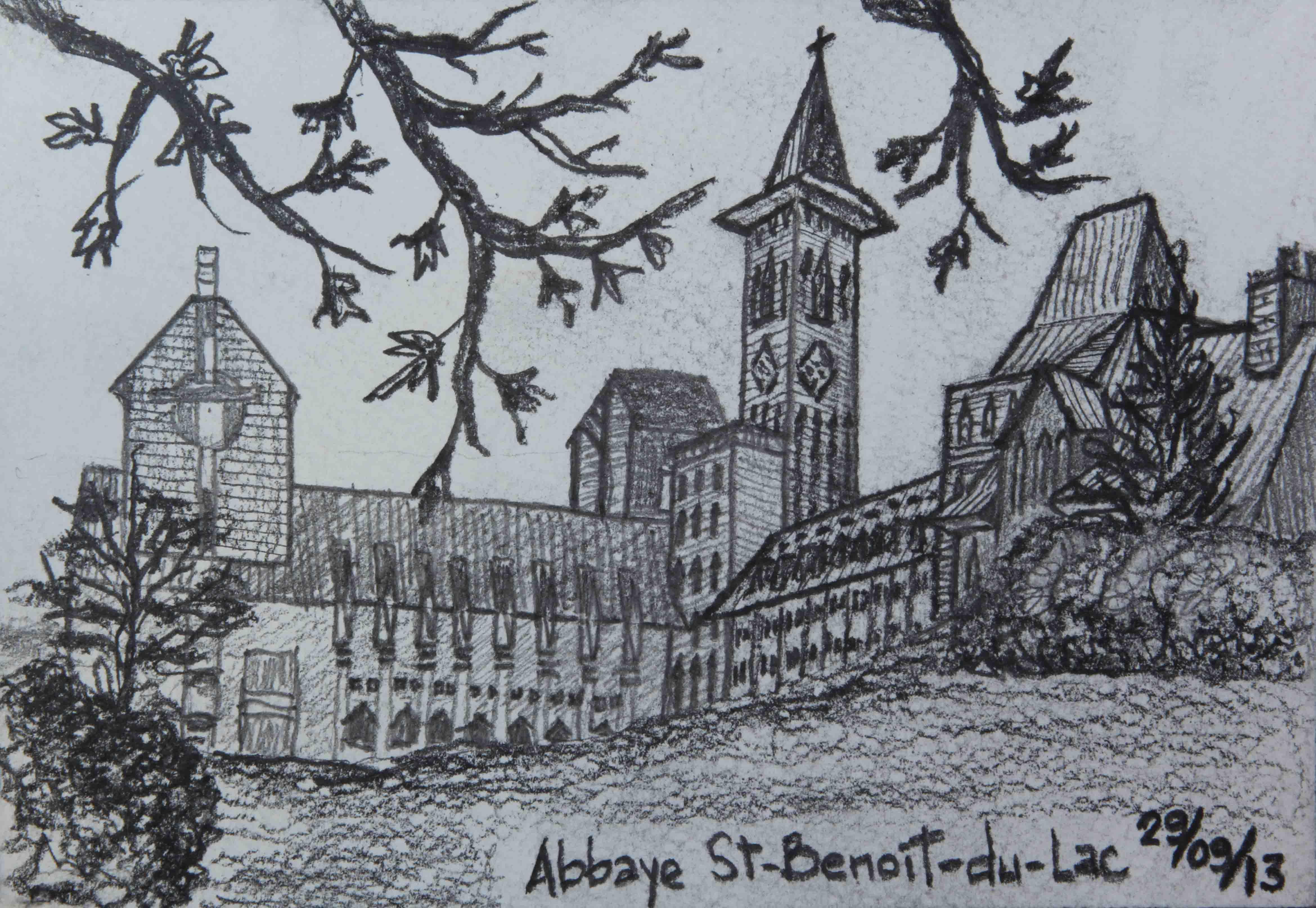 D20 Abbaye St-Benoît-du-Lac