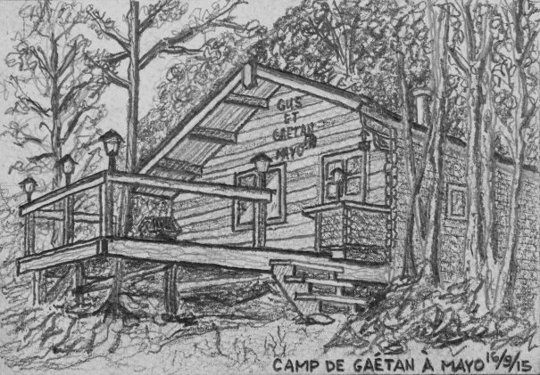 D24 Le camp de Gaétan à Mayo