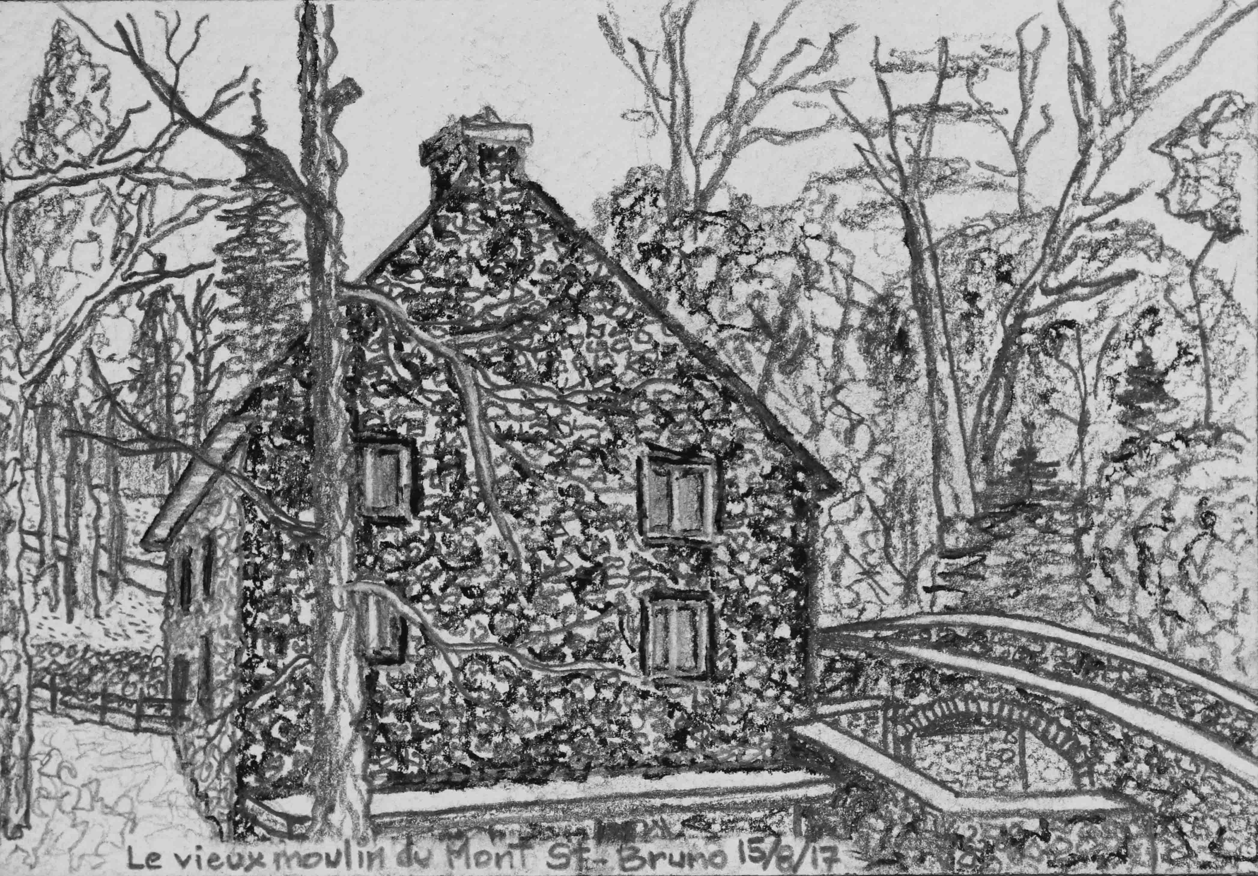 D29 Le vieux moulin du Mont St-Bruno