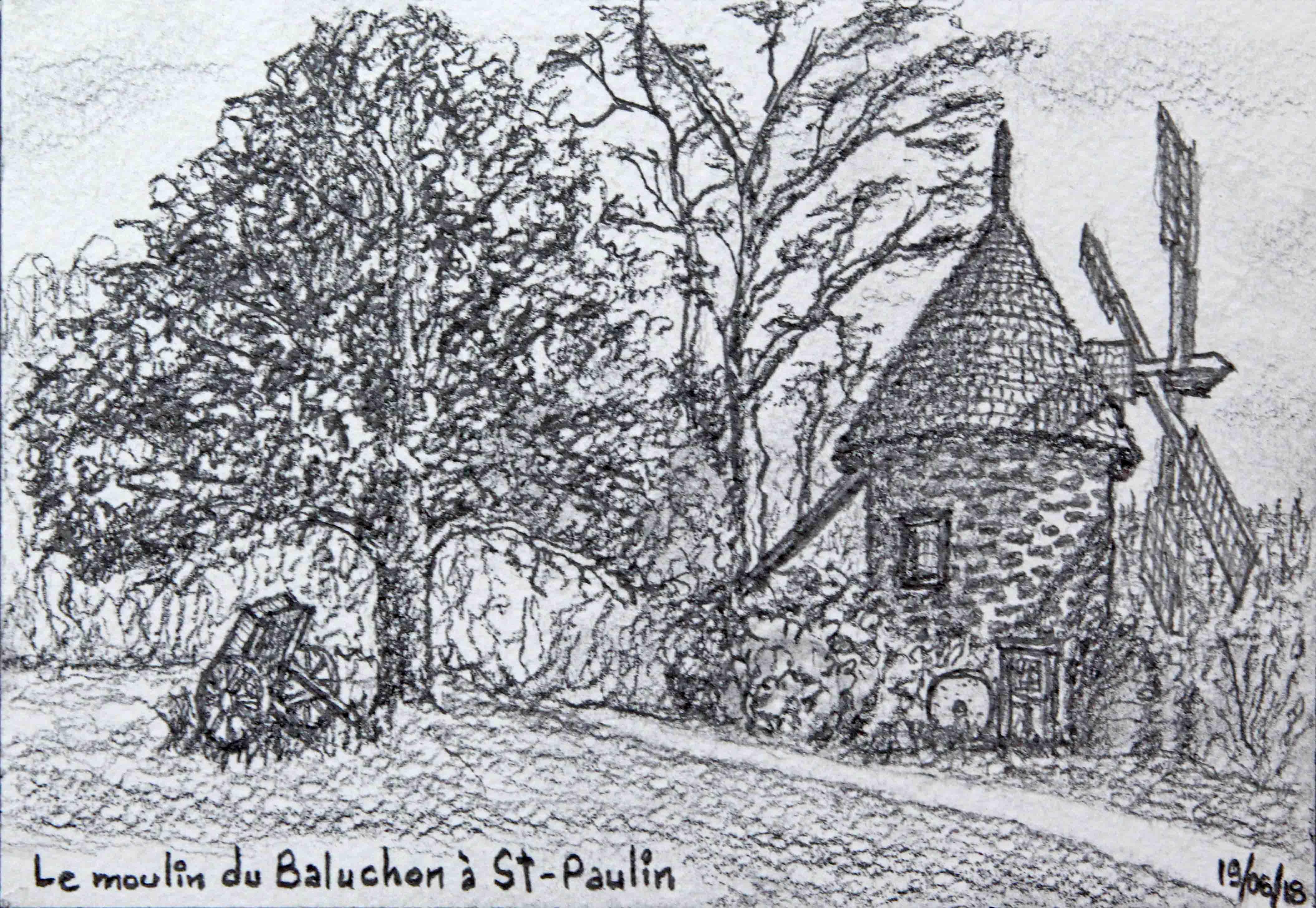 D33 Moulin du Baluchon St-Paulin