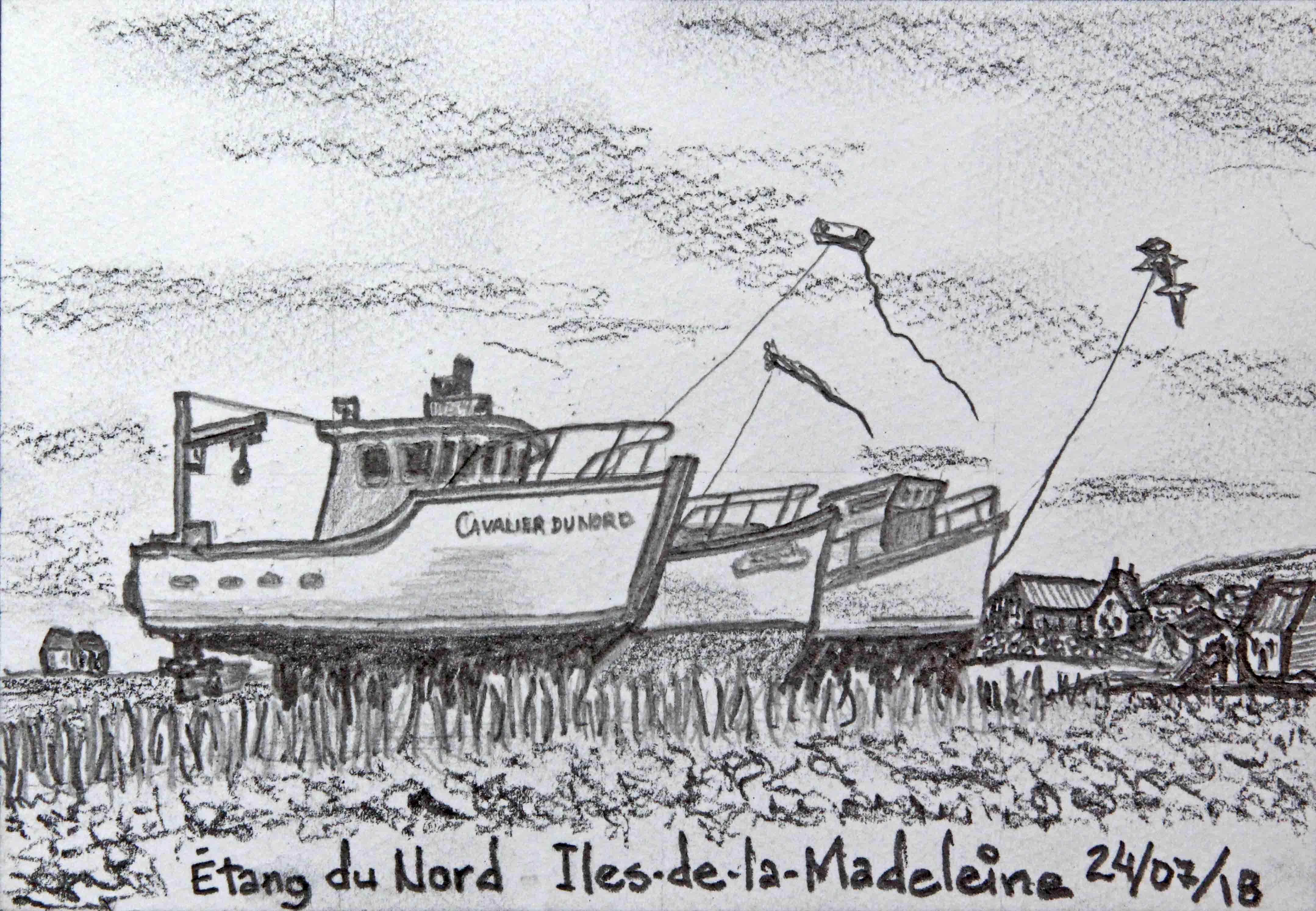 D36 Étang du Nord aux Îles-de-la-Madeleine
