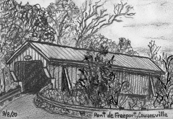 D39 Pont de Freeport à Cowansville