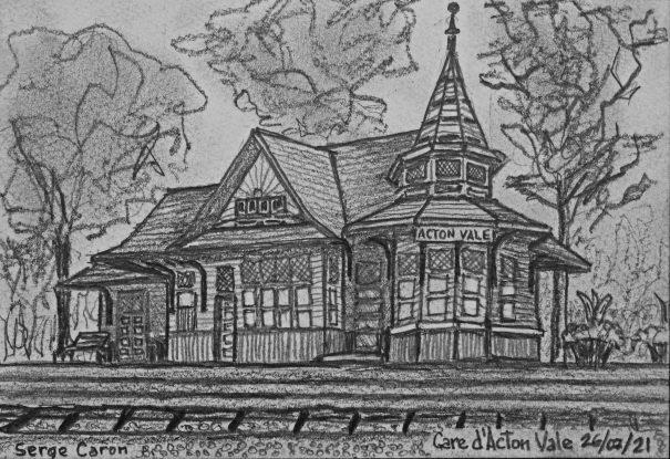 D40 Gare d'Acton Vale